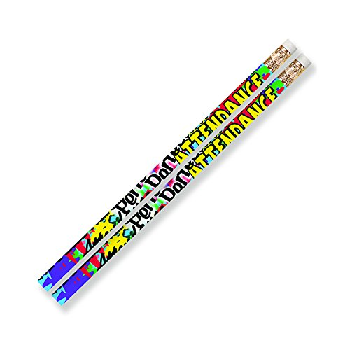 Musgrave Pencil Co MUS2329D Perfect Attendance Art and Craft Pencil (Attendance Pencils)