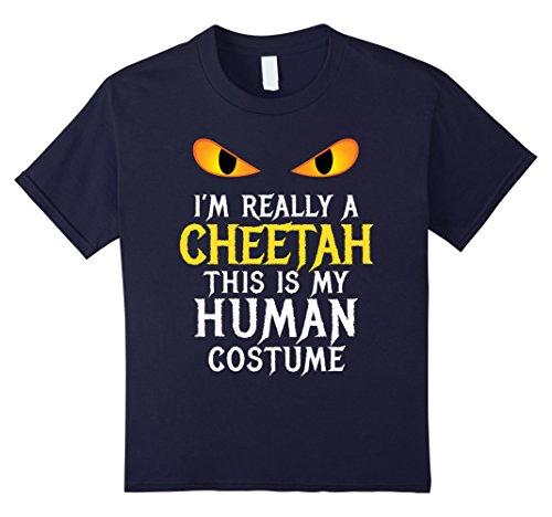 Scary School Girl Costume Diy (Kids Funny Scary Cheetah Costume 4 Navy)