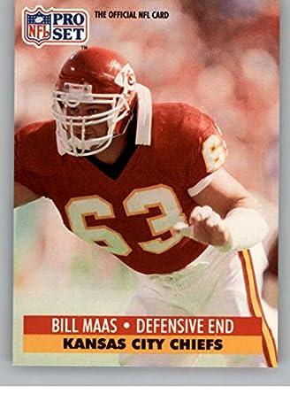quality design a362c 6d057 Amazon.com: 1991 Pro Set Football Card #828 Bill Maas Kansas ...