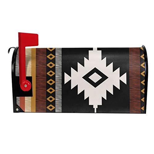 Milyla-ltd Pueblo in Sienna Magnetic Mailbox Cover Letter Post Box Cover Wrap Standard Size 21