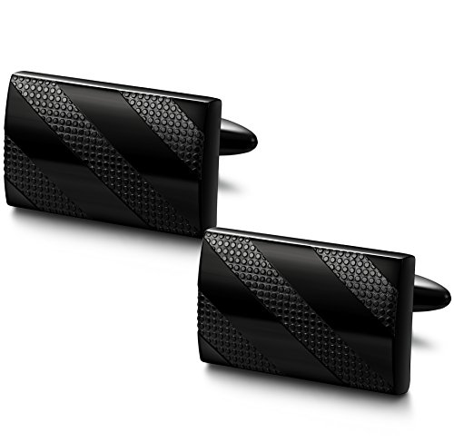 FIBO STEEL Stainless Cufflinks Business