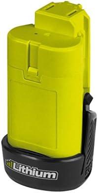 Ryobi BSPL1213 iones de litio 12V batería recargable - Batería/Pila recargable (1,3 Wh, Ión de litio, 12 V, Negro, Verde, 1 pieza(s))