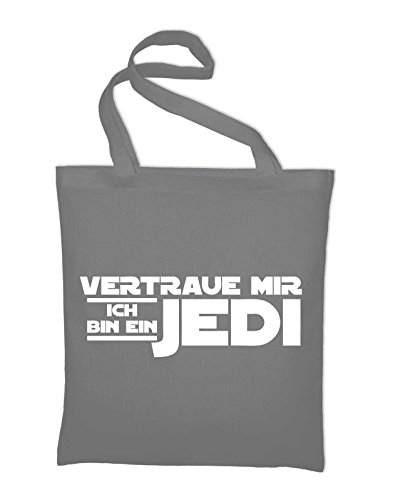 yellow Styletex23bagvibej8 Me Jute Tasche Bag Jedi I'm Cotton In A Grey Bag Trust Yellow Fabric And Light gTdw6Ox6
