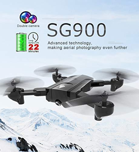SG900 Foldable Quadcopter 7.4v 1100mAh HD Camera WiFi FPV GPS...