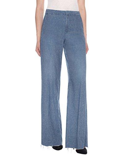 Joe's Jeans Women's The Bessie Wide Leg Trouser Jeans, Carolee, 24 (Leg Trouser Jeans)