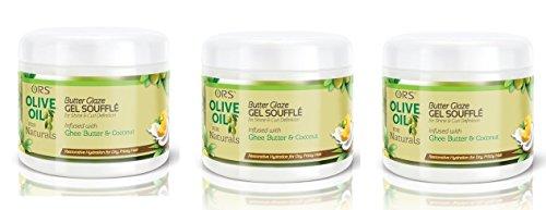 ORS OLIVE OIL FOR NATURALS BUTTER GLAZE GEL SOUFFLE 12 OZ