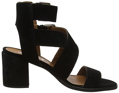 Office Women's Miles Open Toe Sandals Black (Black Suede) countdown package fashionable for sale outlet store pVyKwuxmvc