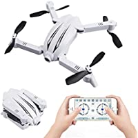 Folding UAV, Hometom Flytec T13 3D Design Folding Arm Pockets UAV Wifi FPV Figure 720p