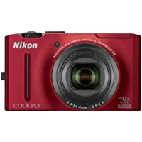 Nikon Coolpix S8100 12.1 MP CMOS Digital Camera with 10x Zoom-Nikkor ED Lens and 3.0-Inch LCD (Red) Explained Review Image