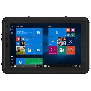 Vanquisher 8 Inch Ultra Rugged Tablet PC 2nd Gen Windows 10