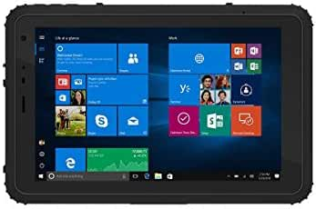 Vanquisher 8-Inch Ultra Rugged Tablet PC (2nd Gen), Windows 10 / Intel Quad Core CPU / GPS GNSS / Gorilla Glass Panel / IP67 Waterproof, For Enterprise Mobile Work