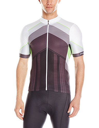 Primal Wear Men's Sound Barrier Helix Jersey, Medium, Green (Air Wear Primal)