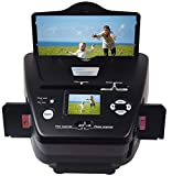 DIGITNOW All-in-One High Resolution 16MP Film Scanner, with 2.4' LCD Screen Converts 35mm/135slides&Negatives Film Scanner Photo, Name Card