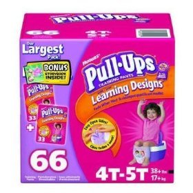 Huggies Pull-Ups Learning Designs, for , Size 3T-4T ~ 62 Training Pants, Health Care Stuffs