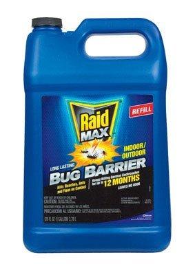 (Raid Max Bug Barrier Refill, 128 Fluid Ounce)