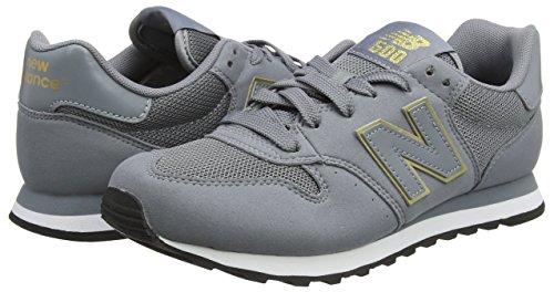 Donna New Sneaker 500 Grigio grey gold Balance vnxU7