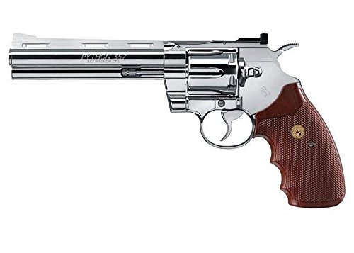Colt Python CO2 Revolver, Chrome air pistol