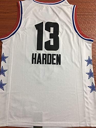 YSAメンズバスケットボールウェア-夏のバスケットボールTシャツNBAヒューストンロケッツ13#強化ファンエディションジャージクラシック刺繍ノースリーブベスト