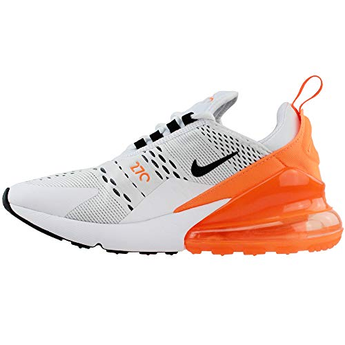 White Max Orange Total Black NIKE Air W 270 Multicolore da Ginnastica Basse Donna 001 Scarpe Tpn1qnf