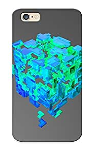 Ellent Design Glass Cube Pieces Phone Case For Iphone 6 Premium Case For Thanksgiving Day's Gift