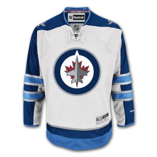 Winnipeg Jets Reebok Premier Jumbo Replica Road NHL Hockey Jersey - Size XXX-Large
