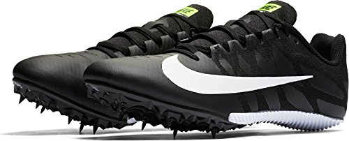Nike Zoom Rival S 9 Track Spike Black/White/Volt Size 12 M US