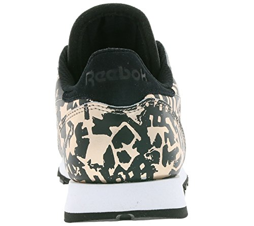 Classic Reebok Hijacked Metallic Femme Heritage Mode Leather Baskets d1qz4rw1x