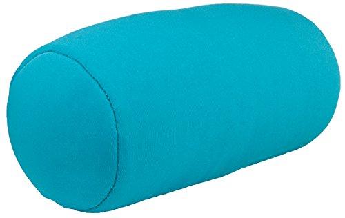 Micro Mini Microbead Cushie Roll Pillow 3.5 x 8.5 (Blue) (Squish Pillow)