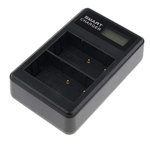 kesoto Cargador De Batería Dual De Carga Para Nikon EN-EL3e Y Nikon D80 / D700 / D90 / D300 / D100 / D200 / D300s / D50 /...