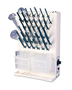 "Bel-Art Scienceware 188190013 Polypropylene Lab-Aire II Single-Sided Electric Benchtop Drying Rack, 16.75"" Length x 7.5"" Width x 22.7"" Height"