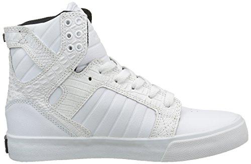 Supra Skytop Donne Sneaker Bianco / Croc / Bianco