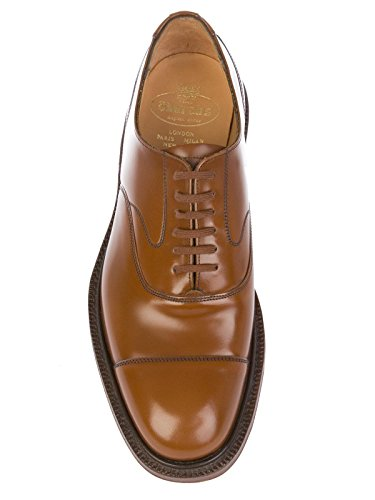 Pelle Marrone CHURCH'S Stringate LANCASTERPOLISHEDSANDALWOOD Uomo F1tWxqwpf