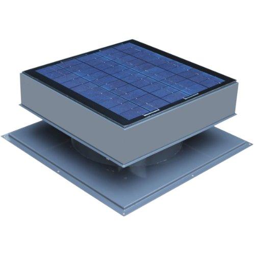 Price comparison product image Solar Attic Fan, Roof Mount 30 Watt, Gray