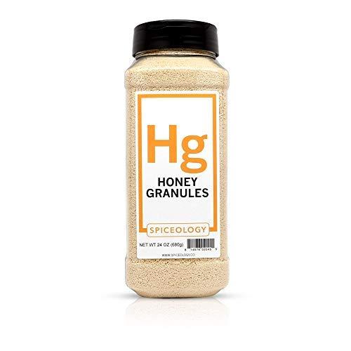 Honey Granules - Spiceology Granulated Honey - 24 ()