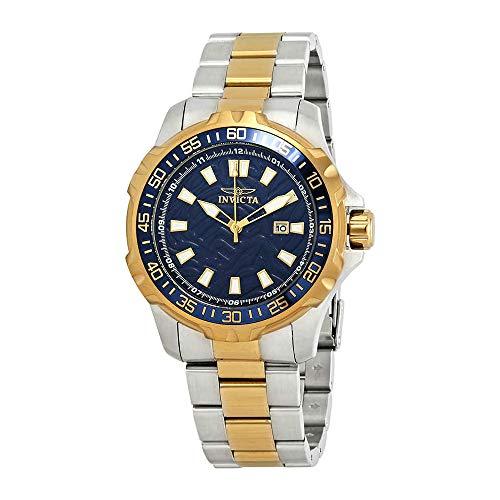 Invicta Men's 25794 Pro Diver Quartz 3 Hand Blue Dial ()