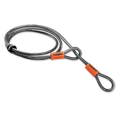 Kryptonite KryptoFlex 710 Double Loop Bicycle Security Bike Cable (10mm, 7-Feet)
