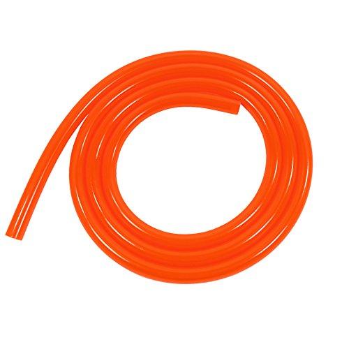 XSPC HighFlex Tubing 3/8'' ID, 5/8'' OD, 2 Meters Length, Red/UV Orange by XSPC