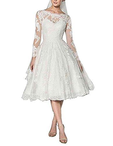 best tea length wedding dresses - 6