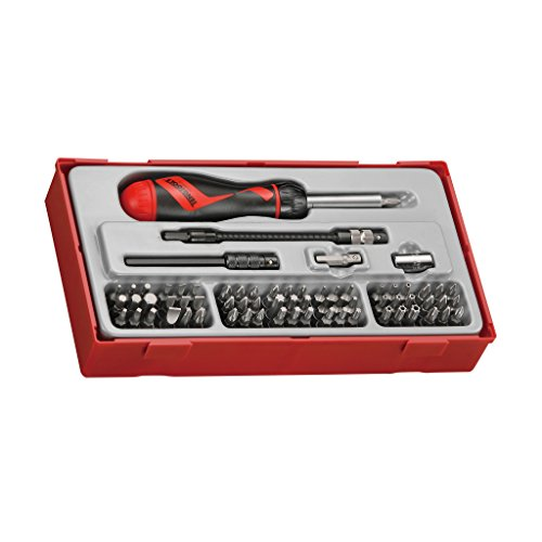 Teng Tools 74 Piece 1/4 Inch Drive Ratcheting