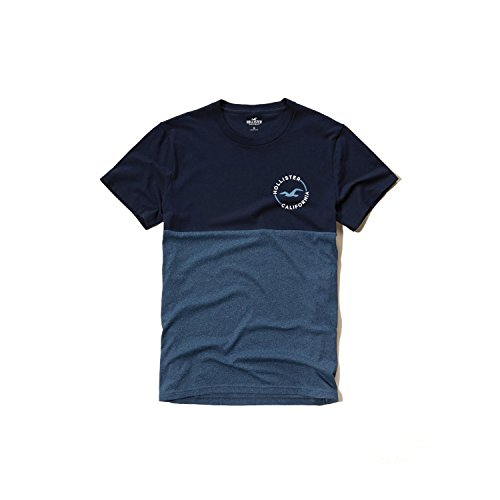hollister-hco-mens-logo-graphic-t-shirt-tee-black-blue-and-much-more-s-m-colorblock-tee-2