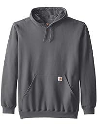 Men's Big & Tall Midweight Hooded Pullover Sweatshirt K121