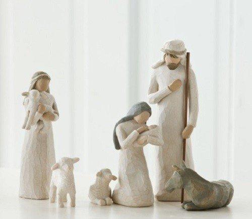 Heilige Heilige Heilige Familie   Nativity von Willow Tree B001IZLJTW Weihnachten eb01a1