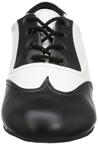and Ballroom Shoes Black Jz97 So Jazz Danca White Multicolour Women's SqnwUUfxO
