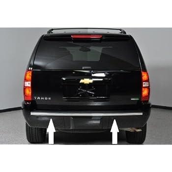 07-14 Cadillac Escalade Chrome Bumper Tailgate Trunk Trim Molding 08 09 10 11 12 13 2007 2008 2009 2010 2011 2012 2013 2014