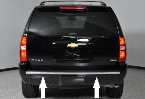 Chevy Tahoe/Suburban Chrome Bumper Trim Molding 07-14 08 09 10 11 12 13 2007 2008 2009 2010 2011 2012 2013 -