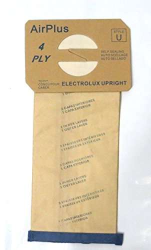 10 Bags for Electrolux Upright Vacuum Cleaner STYLE U