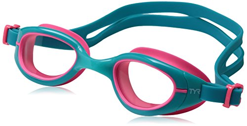 TYR Special Ops 2.0 Femme Transition Goggles, Clear Turquoise Pink, One (Turquoise Clear Light)