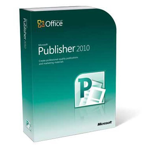 Microsoft 164 06233 Publisher 2010 product image