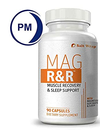 Mag R&R Natural Muscle Relaxation Supplement for Night Leg Cramps, with  Magnesium Glycinate -