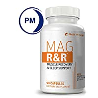 Mag R&R - Natural Muscle Relaxation Supplement for Night Leg Cramps, with Magnesium...